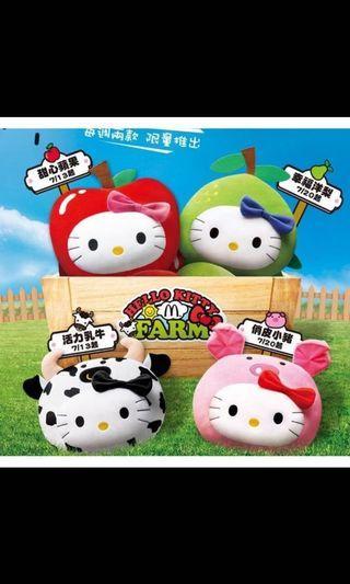 麥當勞抱枕Hello Kitty 仲夏農場