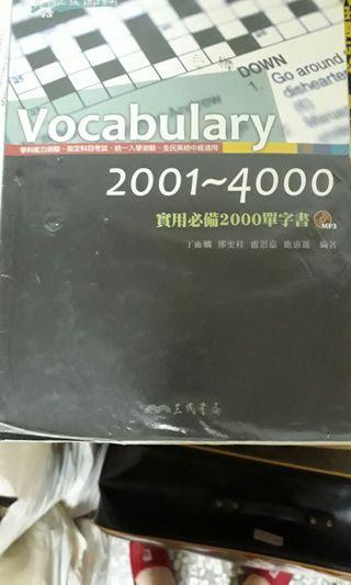 vocabulary 2000-4000