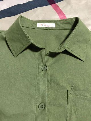 簡約短袖襯衫