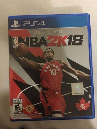 PS4 NBA 2 K 18