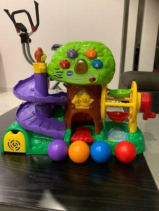 Vtech discovery activity tree with balls