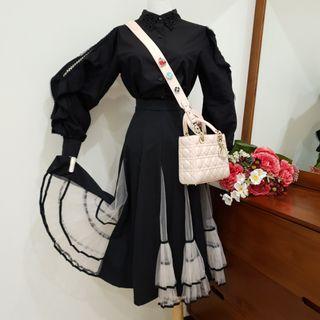 造型荷葉手袖襯衫