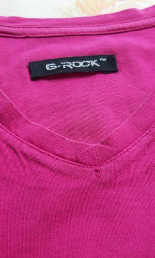 FREE - Kaos Warna Pink *s&k berlaku