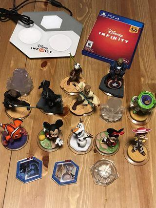 (PS4) Disney Infinity Set (game, base and statues) (英文)
