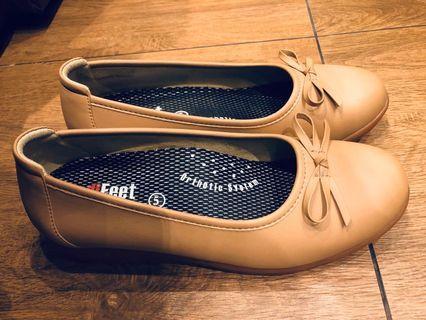 Medifeet Vintage women brown shoes