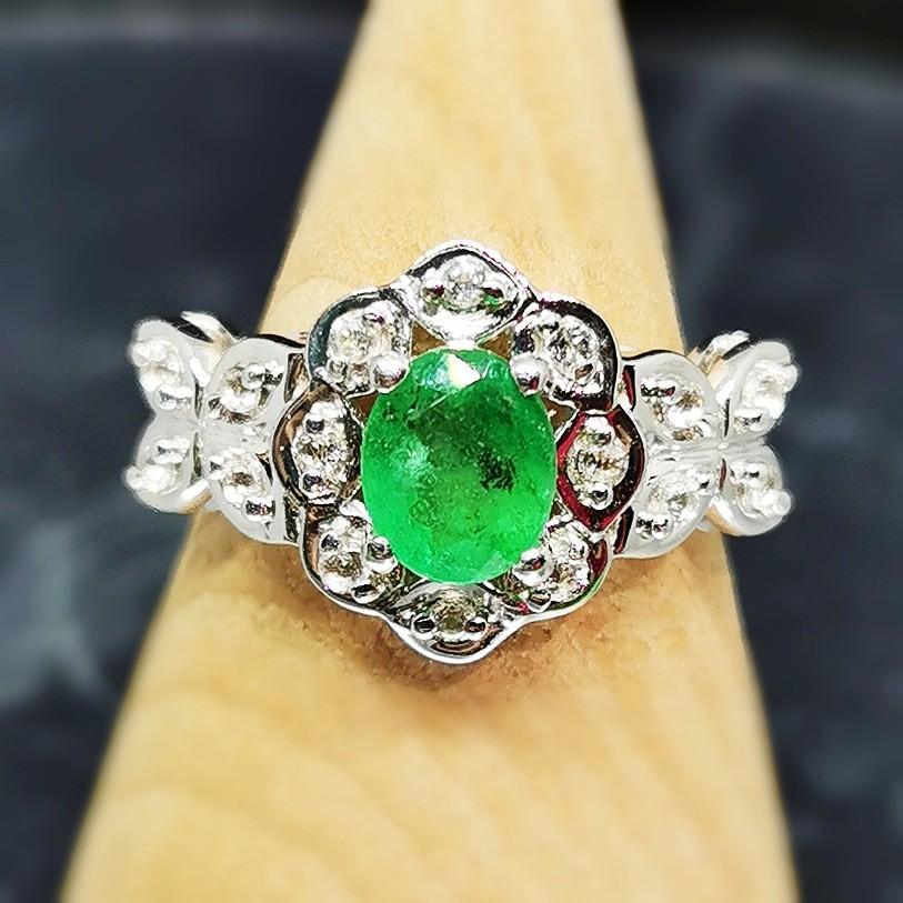 1.2ct Emerald Ring