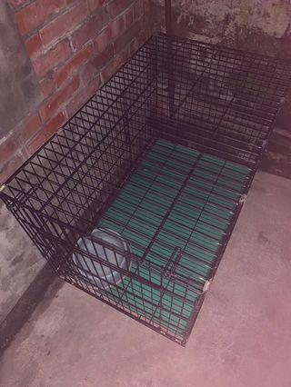 三尺半寵物折疊烤漆籠