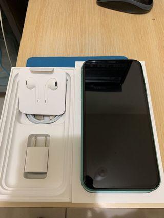 iPhone 11綠色64g
