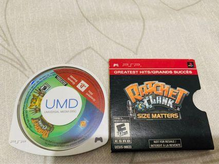 [含運]PSP Ratchet & Clank  遊戲  非常新/English