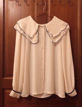 氣質雪紡衣