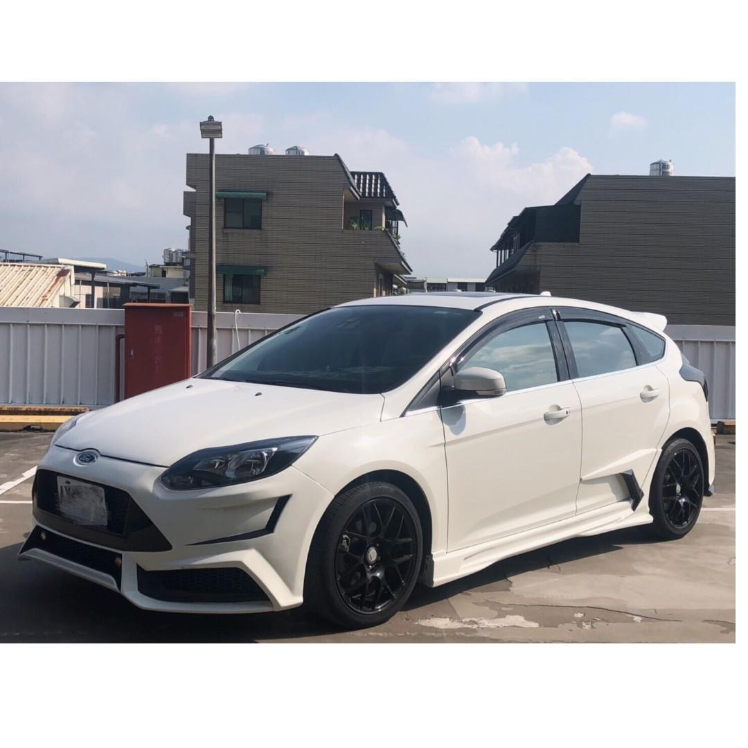 13年~FOCUS~白色~2.0cc~柴油
