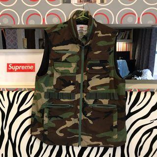 Supreme Tactical Vest 背心 戰術背心 迷彩 camo