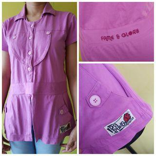 Baju atasan top kaos cewek wanita anak abg remaja brand matahari