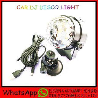 CAR DJ DISCO LIGHT
