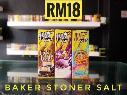Baker stoner salt nic