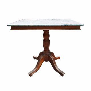 Square Chinese Restaurant Table with Marble Top BF