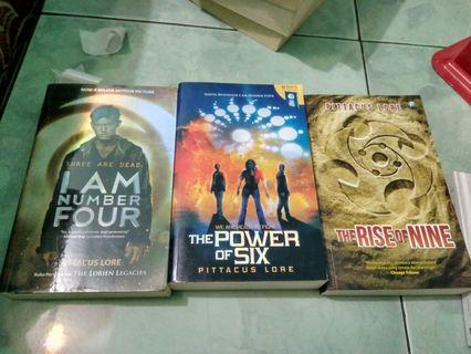 Novel Lorien Legacies I am Number Four by Pittacus Lore