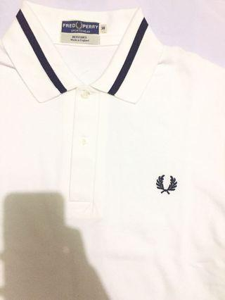Brand new Authentic fred perry m2 made in england poloshirt