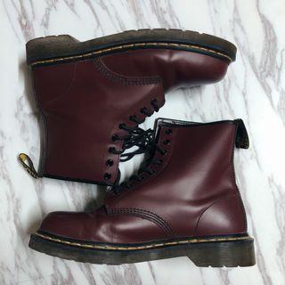 Dr.Martens 馬汀鞋  UK7  8成新 附鞋盒