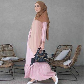 Asmara Dress Gonegani Dusty Pink S