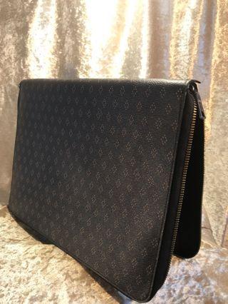 COACH leather laptop case/sleeve