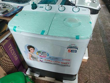 Bisa kredit mesin cuci Sanken tanpa DP