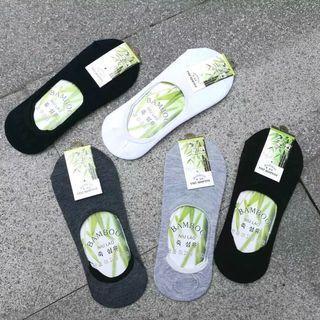 Kaos kaki low cut pendek serat bambu