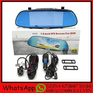H10TP 7 REAR VIEW MIRROR FULL HD1080 DVR RECORDER