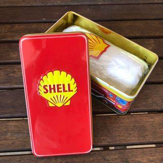 Shell tin box