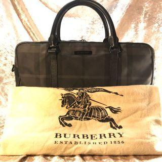 BURBERRY Messenger Bag Checkered classic design