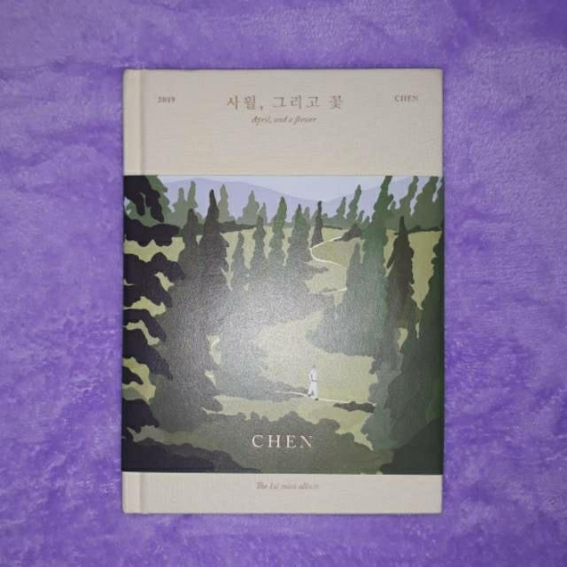 1st mini Album EXO Chen April, and a Flower (April ver.) Unsealed preloved with