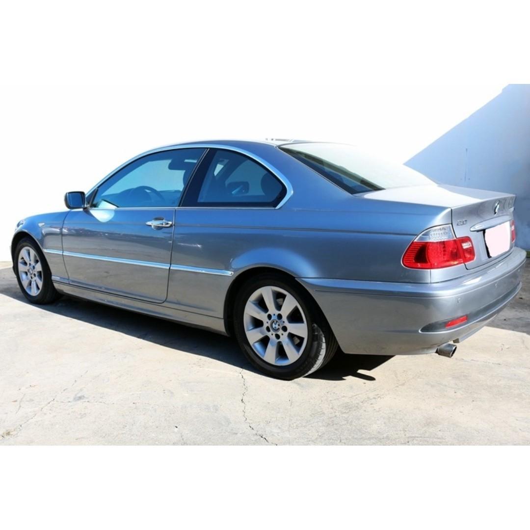 【精選低里程優質車】2005年BMW 318Ci 雙門轎跑 2.0升【經第三方認證】【車況立約保證】