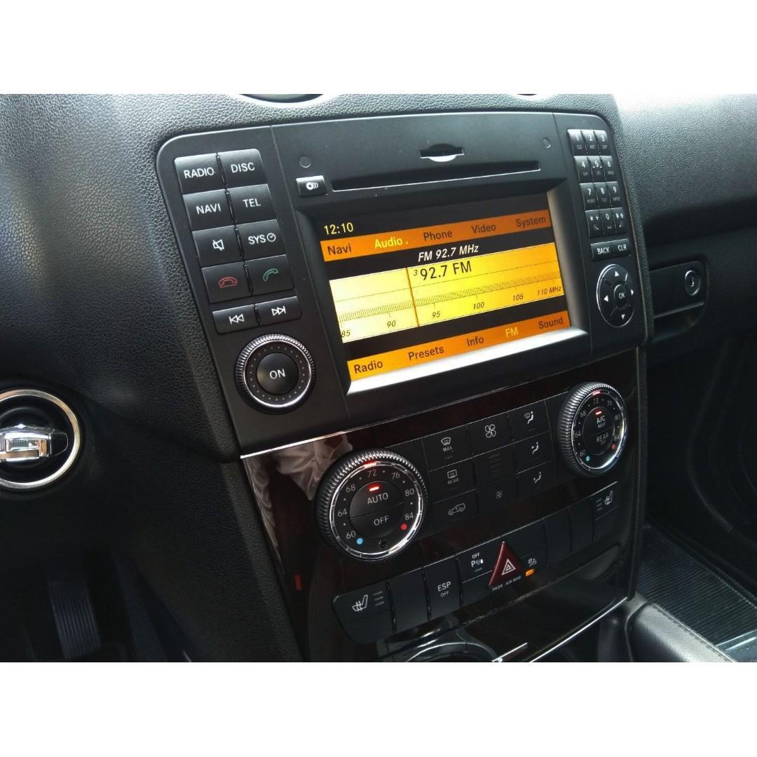 2010 BENZ ML350 休旅車 4WD 熱門休旅車 頂級配備 V6汽車引擎 最高馬力272匹