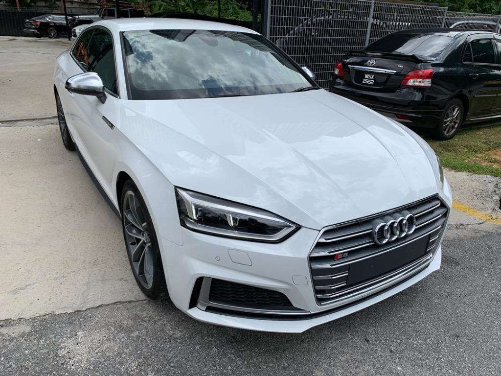 2017 Audi S5 S Line Quattro Coupe (AWD)    (Recon)