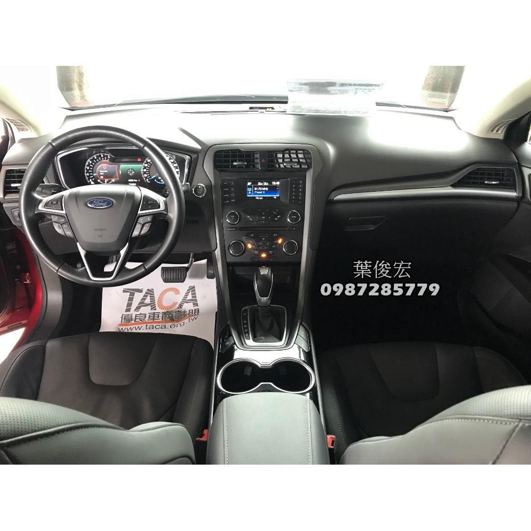 福特原廠認證中古車2017年Ford Mondeo TDCI 2.0柴油 MK5油耗佳 原廠認證