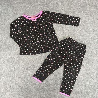 Pyjama Sleep Cotton set with English Flower prints