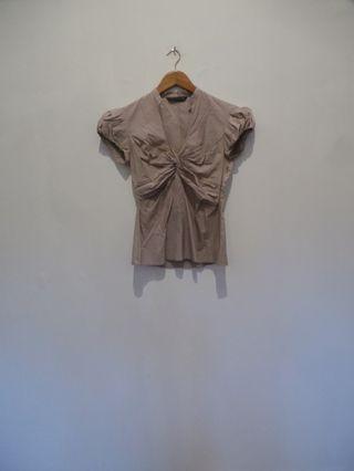 ZARA women blouse wanita klasik