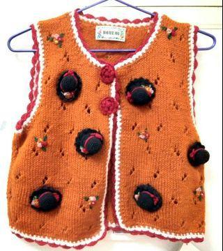 ♥️羊毛背心<2件組>原價4260⏩適合3~5歲⚡換季好康📣📣📣限時特賣