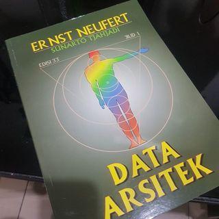 (NEW) BUKU DATA ARSITEK INTERIOR JILID 1 BY ERNST NEUFERT ORIGINAL