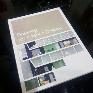 (NEW) BUKU DRAWING FOR INTERIOR DESIGN BY DREW PLUNKETT (desain interior) ORIGINAL