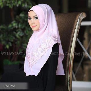 Kerudung Instan hijab jilbab bergo scarf Khimar rahma