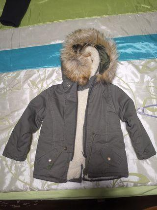Winter Jacket parka khaki