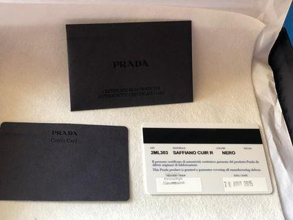 Prada organiser men's clutch