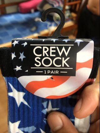 美國國旗設計長襪