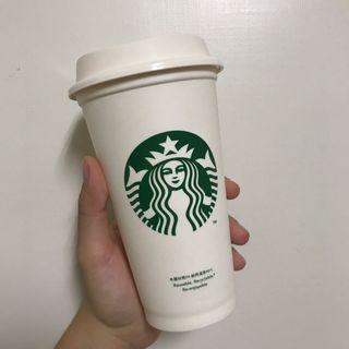星巴克環保熱飲杯