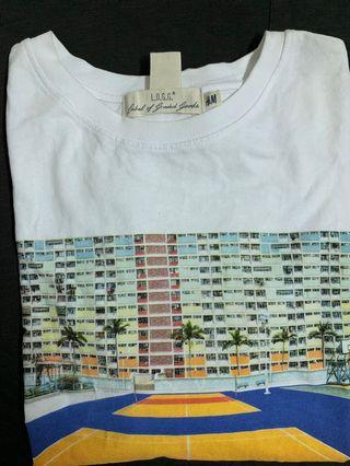 H&M 長袖T恤 上衣 圖案T 古著 復古 照片