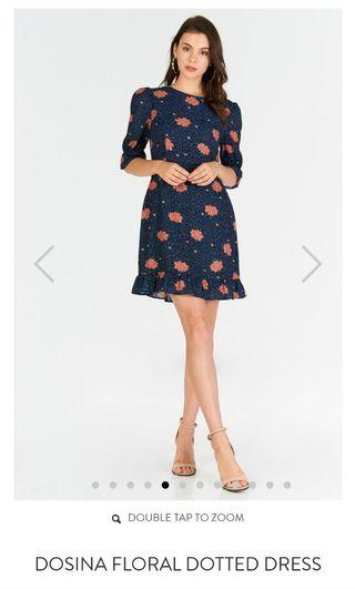 TCL Dosina Floral Dotted Dress