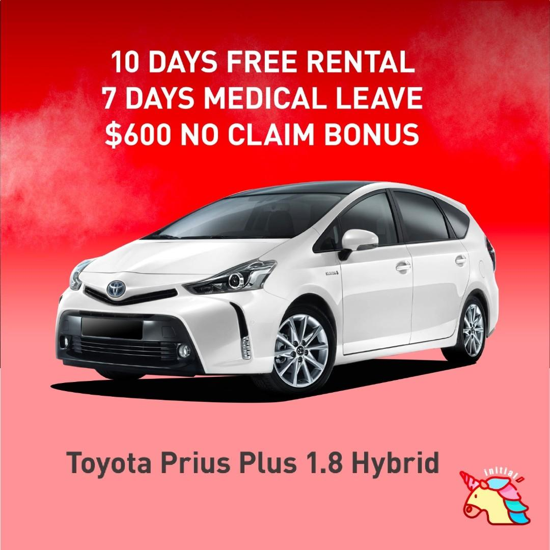 Enjoy 18days free rental with 12mth contract