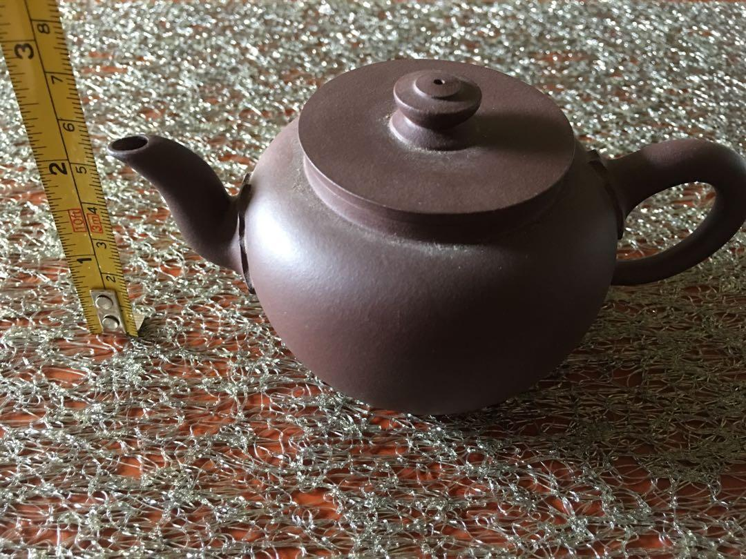 宜興紫砂壺〉未使用品