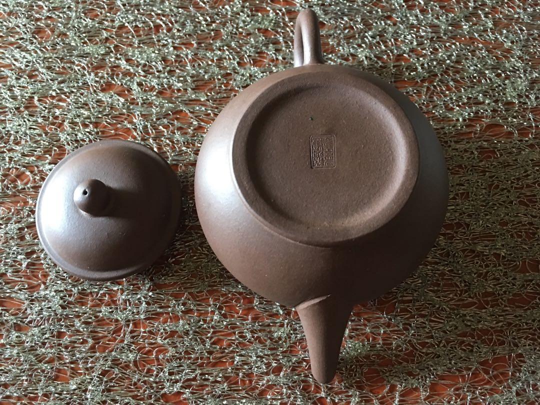 水平宜興紫砂壺》早期個人收藏》未使用品